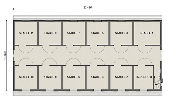 Horse stable plans images galleries for Horse stable design plans