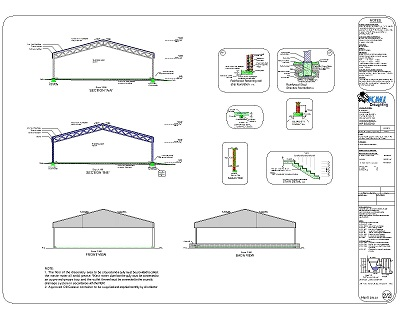Plan PL0019SS (Steel Structure)