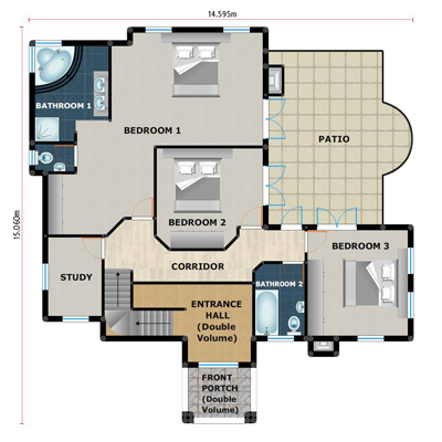 floorplan upper
